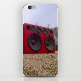 Bass Traveler Red Tarantula iPhone Skin