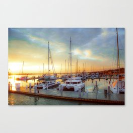Mantazas Bay Canvas Print