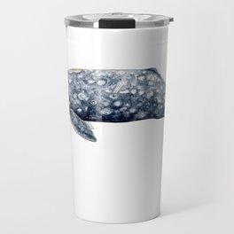 Grey whale Travel Mug