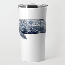 Grey whale Travel Mug