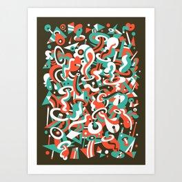 Schema 8 Art Print