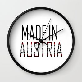 Made In Austria Wall Clock