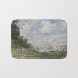 Bassin d'Argenteuil by Claude Monet Bath Mat