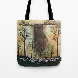 Far From the Wicked Tote Bag
