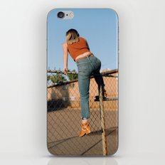 she's outta here iPhone & iPod Skin