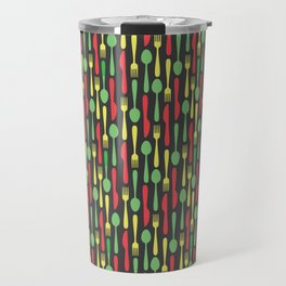Colored Kithen Cutlery Travel Mug