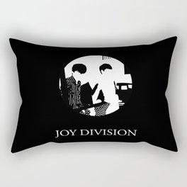 JOY DIVISION - Music | Goth | Indie | Wave | Retro | Vintage | Vector | Black and White | Vinyl  Rectangular Pillow