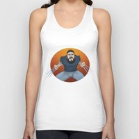 chad wys Tank Tops featuring Chad-verine by Art By Someone