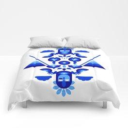 Libra in Blue Comforters