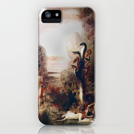 Vivid Retro - Hercules and the Lernean Hydra iPhone Case