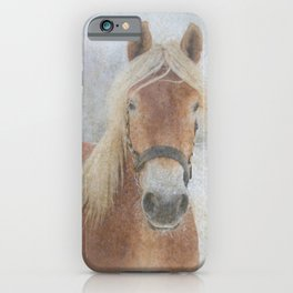Winter Horse - JUSTART (c) iPhone Case