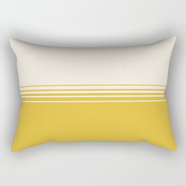 Marigold & Crème Horizontal Gradient Rectangular Pillow