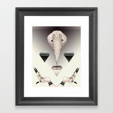 Naga Framed Art Print