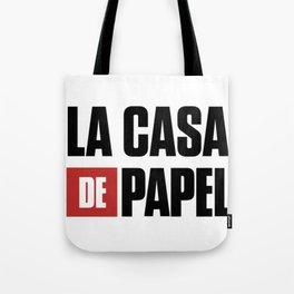 La CASA de Papel T-Shirt, La Casa De Papel Hooded. Tote Bag