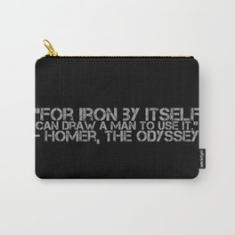 Iron By Itself Carry-All Pouch