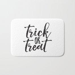 Trick or Treat (black) Bath Mat
