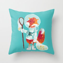 Catch the falling stars Throw Pillow
