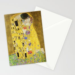 The Kiss - Gustav Klimt, 1907 Stationery Cards