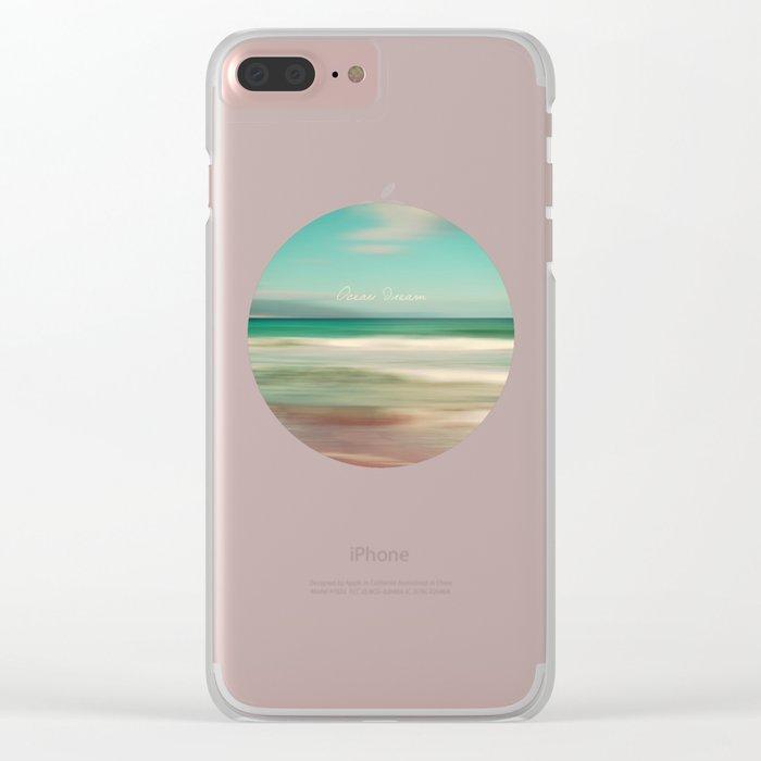 Ocean Dream IV Clear iPhone Case