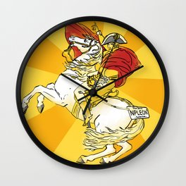 Napoleon comes to New Jersey Wall Clock