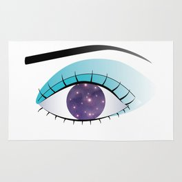 Universe in the Eye Rug