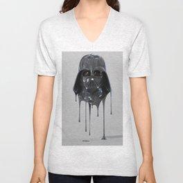 Darth Vader Melting Unisex V-Neck