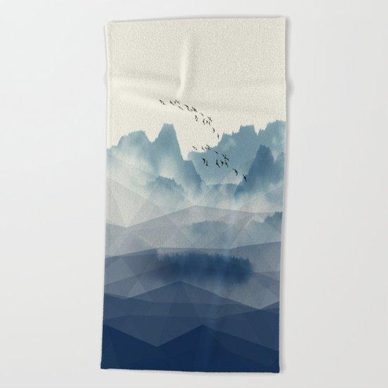 Mountain dreams Beach Towel