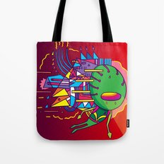 Alien Colors Tote Bag
