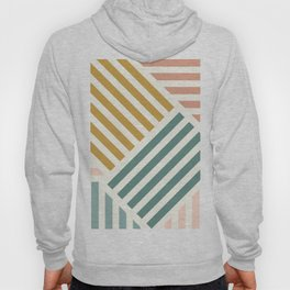 Abstract Summer Lines Hoody