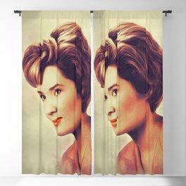 Sally Ann Howes, Actress Blackout Curtain