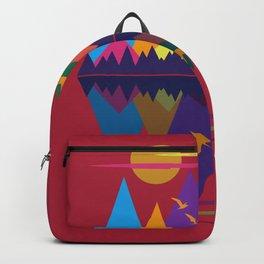 Mountain Scene #9 Backpack