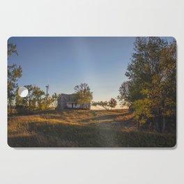 Abandoned Farmstead, North Dakota 1 Cutting Board