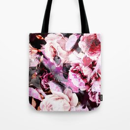 Roses in abstraction Tote Bag