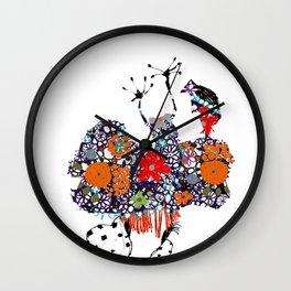 Imaginary friend! Wall Clock