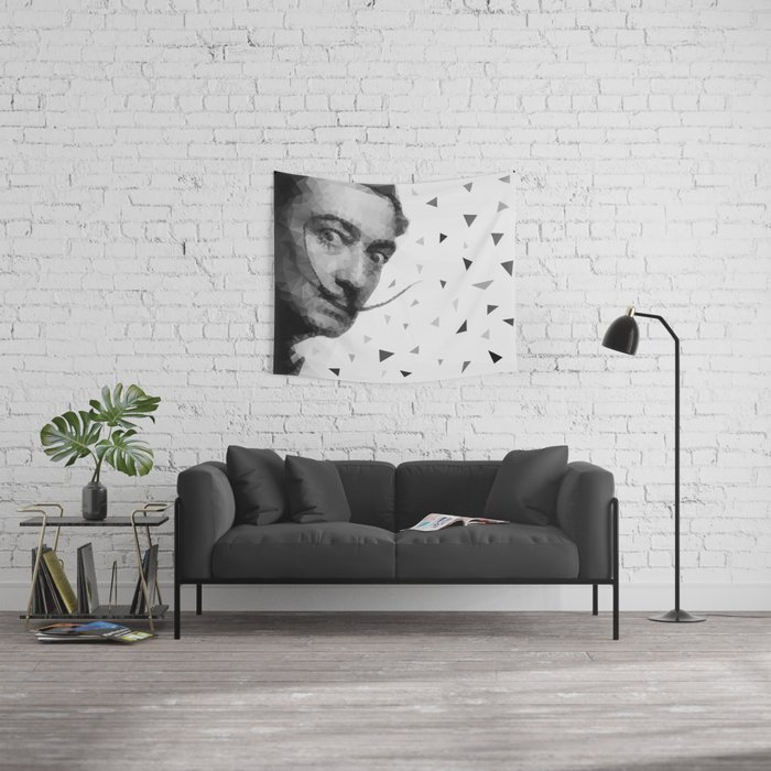 Dali triangles Wall Tapestry