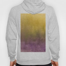 eggplant and gold watercolor Hoody