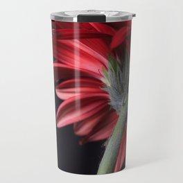Red Gerbera Daisy Travel Mug
