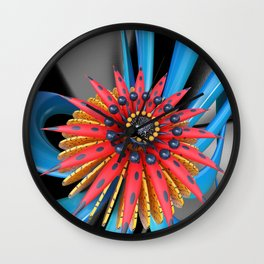 Mastery Flower Wall Clock