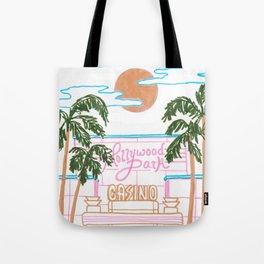Hollywood Park Casino Tote Bag