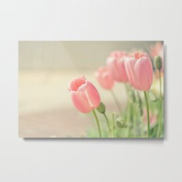 Tulip Love Metal Print