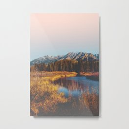 Mountain Creek Metal Print