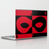 harley quinn Laptop & iPad Skins featuring Harley Quinn by Argent Stylings