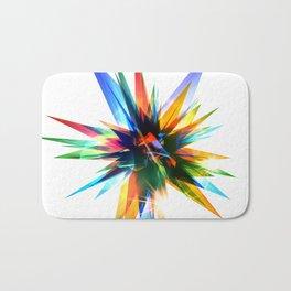 Colorful abstract star Bath Mat