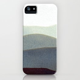 Mountains Storm iPhone Case