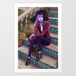 Widowmaker Art Print