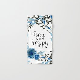 You Are My Happy 01 Hand & Bath Towel