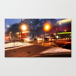 Turnpike Lane London Bus Canvas Print