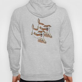 UNSTABLE HAPPY DOGS Hoody