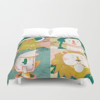 oz Duvet Covers featuring Oz by StinkyInky_Jess