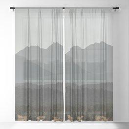 Rocky Mountain Haze Sheer Curtain